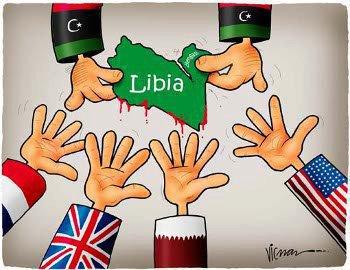 Rozdělení Libye